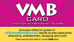 Vacation Member Benefits (VMB) Card